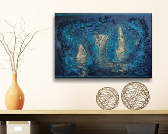 True Blue - Original Acrylic Painting
