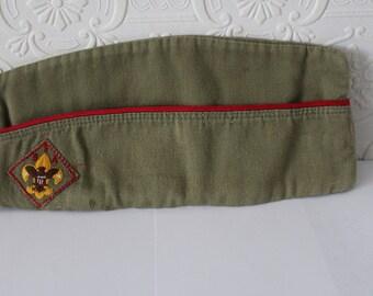 Vintage Boy Scout Garrison Cap