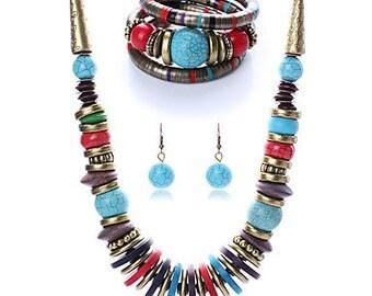 Bohemian fun outing jewelry