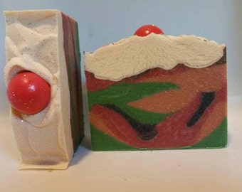 Apple Pumpkin Caramel Crunch Soap