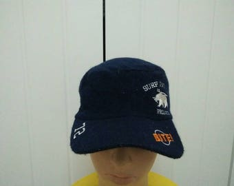 Rare Vintage SURF AND TURF Cap Hat Free size fit all