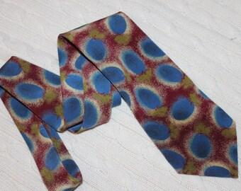 Silk tie, Hugo BOSS, vintage, unused
