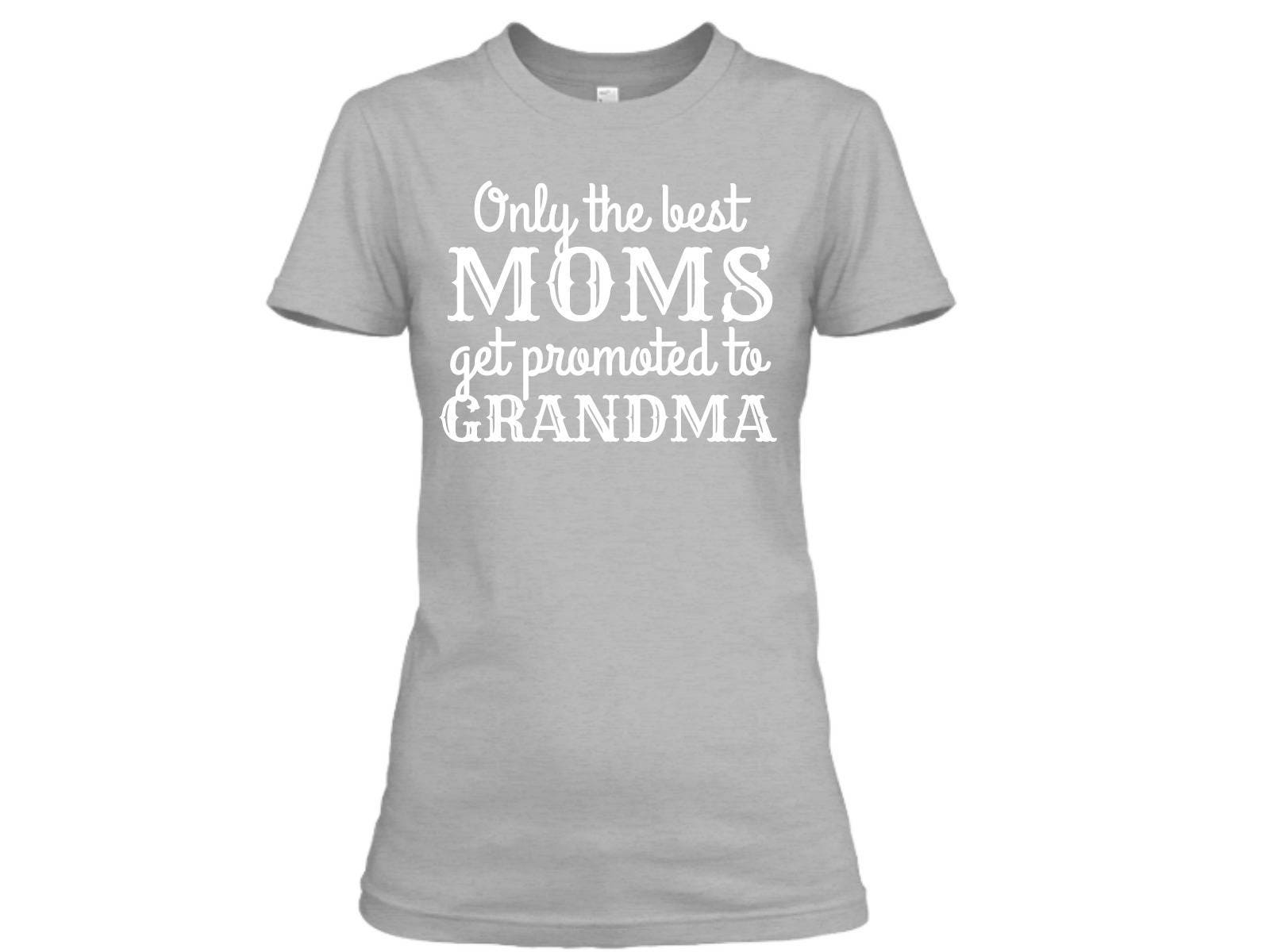 Pregnancy Announcement To Grandparents Pregnancy Reveal To – T Shirt Baby Announcement