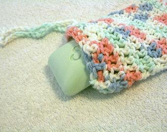 Crocheted Cotton Soap Saver