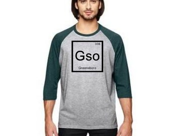 GSO Element City 3/4 Sleeve Raglans