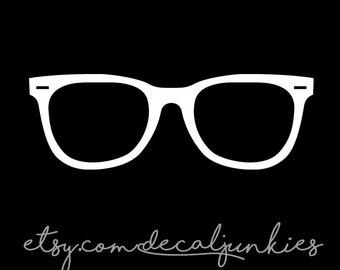 Glasses Wall/Window Decal