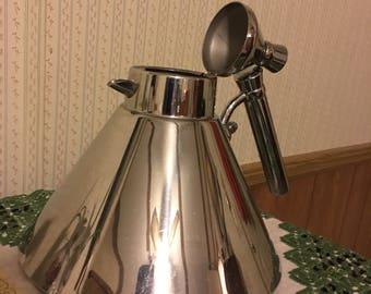Vintage, pop art, Art Deco tea pot