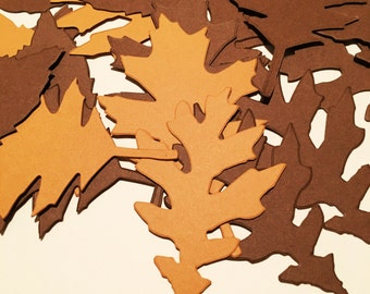 Paper leaves, paper craft, card making , die cut from high quality cardstock