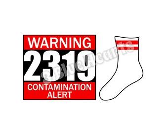 Warning 2319 svg dxf pdf studio jpg , Monster's Inc svg dxf pdf studio jpg
