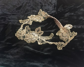 Shiny Lace Headband
