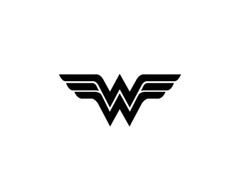 Wonder Woman Decal - Vinyl Decal, Wall Decal, Laptop Decal, Sticker, Marvel Comics