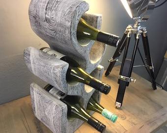 Retro Wine Bottle Holder