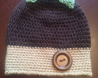 Child Acorn Hat