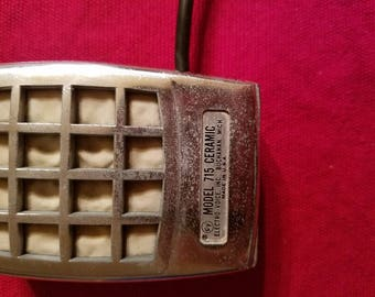 Vintage 1950's Electro Voice 715 ceramic harp microphone
