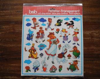 ALice in Wonderland window stickers