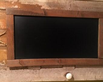 rustic framed chalkboard wedding sign menu sign kitchen chalkboard farmhouse decor rustic decor large framed chalkboard handmade