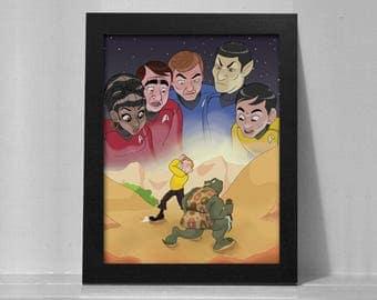 Star Trek Print - 8.5 x 11