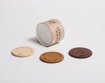 Wood Sample Coasters (Pack of 3)