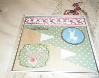 Square Christmas Card