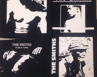 PATCHES The Smiths Albums Lot Set of 4