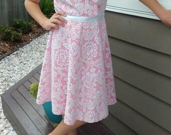SALE! Strawberry Lacey Dress Size 14 girls