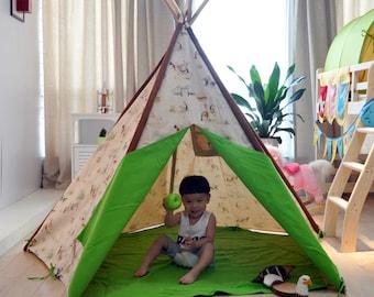 Cowboy Boys Wigwam Teepee Large Play Tent