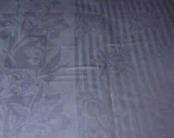 vintage tablecloth, vintage linens, Irish linen tablecloth, vintage Irish linen, linen tablecloth, blue tablecloth, blue linen tablecloth