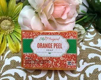 Skin Magical Orange Peel Soap 120g