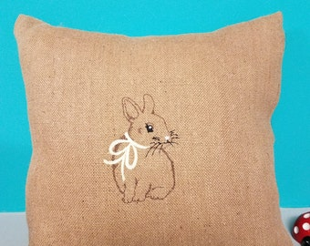 Heirloom Easter pillow cover - to fit 18 x 18 pillow