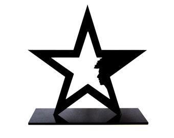 David Bowie, Blackstar, Ziggy Stardust, David Bowie gift, David Bowie souvenir, David Bowie star