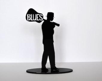 Blues, bluesman, bluesman figurine, Blues gift, Blues souvenir, Blues crossroads