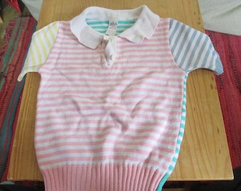Vintage Baby Boy's Striped Top Clothing