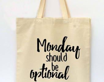 Tote Bag, Beach Tote, Reusable Grocery Bag, Market Tote Bag, I Can Adult Today Tote Bag, Canvas Tote Bag, Printed Tote Bag, Shopping Bag