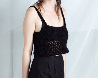 Crochet womens tank