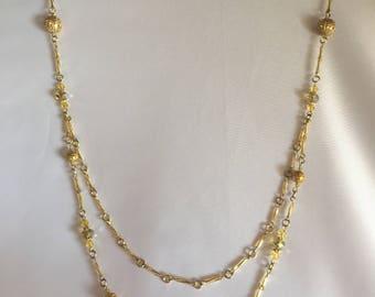 Shinning Bead necklace