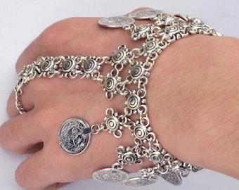 Tribal Coin Bracelet