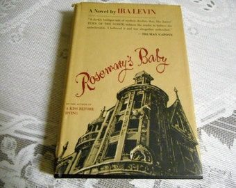 Early Rosemary's Baby by Ira Levin;  witchcraft, devil, satanism, sacrifice to the devil, satan's child, devil worship, horror story, dead