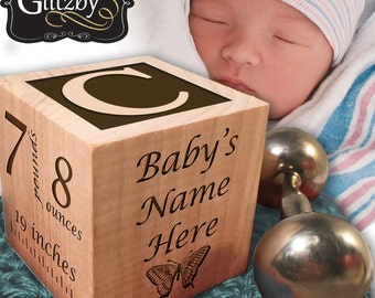 Custom Wood blocks, Baby Name Blocks, Personalized Baby block, New Baby, Baby Room Decor, Nursery Decor, New Mom