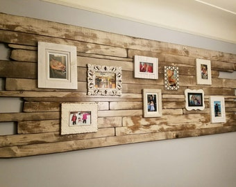 Distressed Wood Art Wall Art