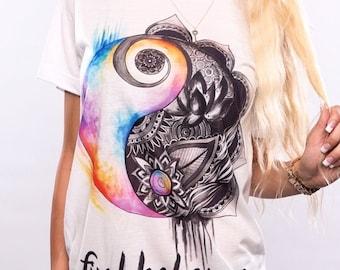 Find Balance Shirt, Yoga Shirt, Hippie Boho Clothing