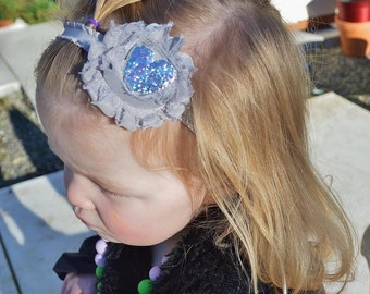 Sparkle Heart Headband