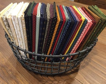 Fabric / Quilting Fabric / Trinkets / Andover / Precuts / Fat Quarters / Kathy Hall / Fat Quarter Bundles