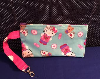 Medical Hello Kitty Clutch Case