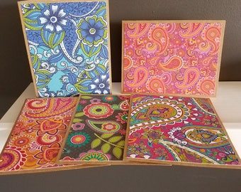 Paisley Note Cards