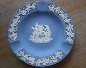 Wedgwood ashtray blue