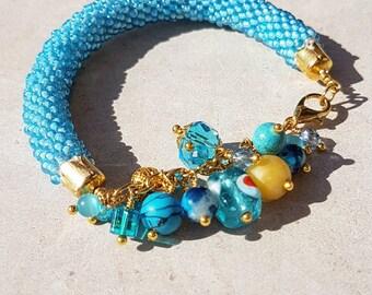 Light blue bracelet Sky