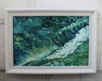 Ocean Waves Painting Etsy