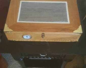 Solid Chestnut Humidor