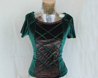 Women's blouse,Renaissance blouse, Rustic blouse, Pirate blouse