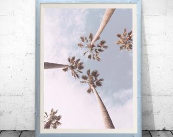 Tropical Print, Palm Tree Print, Tropical Decor, Tropical Palm, Palm Decor, Palm Tree Art, Tropical Art, Tropical Wall Art, Tropical Poster